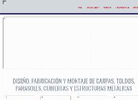 Sitio web de AMERICANA DE CARPAS Y ESTRUCTURAS S.A.S.