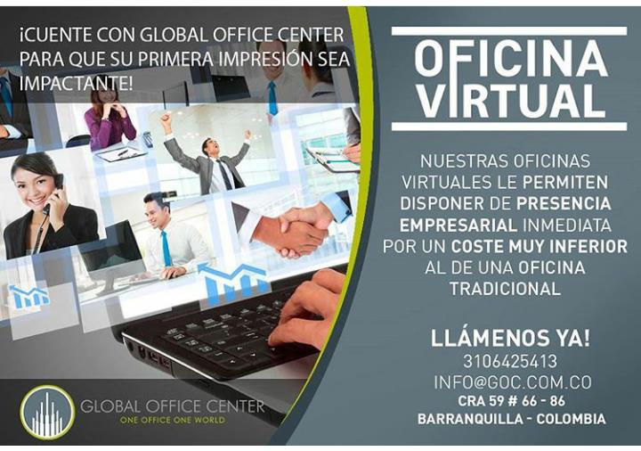 Global office center barranquilla carrera 59 66 86 for Oficina virtual correos