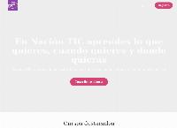 Sitio web de Nacion TIC