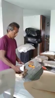 EMPACANDO CRISTALERÍA