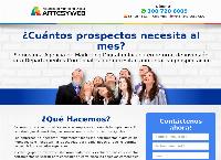Sitio web de Agencia de marketing digital Artes y web