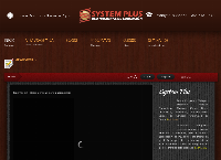 Sitio web de SYSTEM PLUS