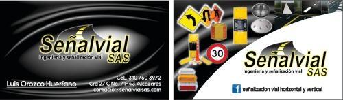 Señalizacion vial horizontal y vertical