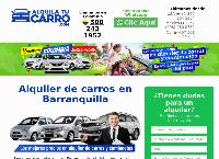 Sitio web de Alquiler de carros en Barranquilla