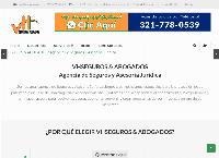 Sitio web de VHSeguros y Abogados - Agencia de Seguros y Asesoría Jurídica