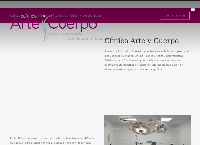 Sitio web de Clinica Arte y Cuerpo