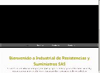 Sitio web de IRS INDUSTRIAL DE RESISTENCIAS Y SUMINISTROS S.A.S.